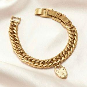 New Heart Locket Bracelet